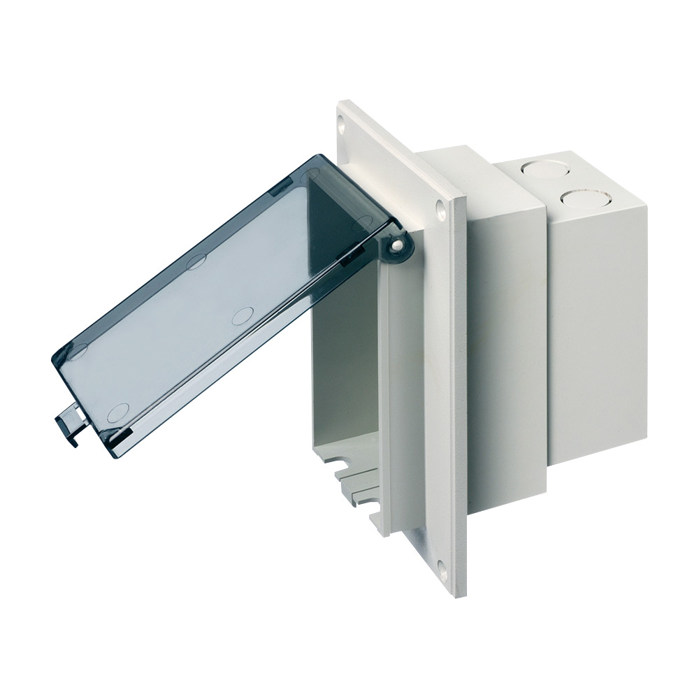 ARLTN DBVR1C Clear O/D Recept. Box-