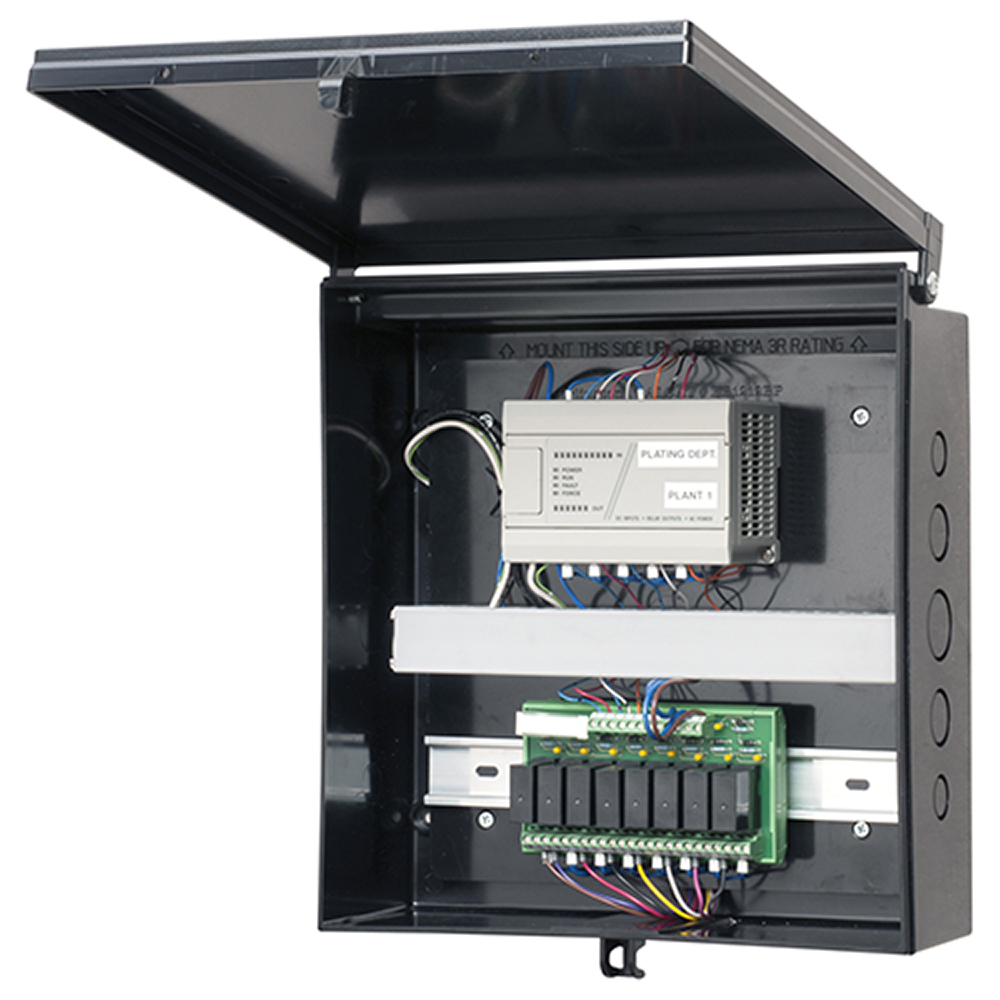 EQUIP BOX W/ BACKPLATE BL
