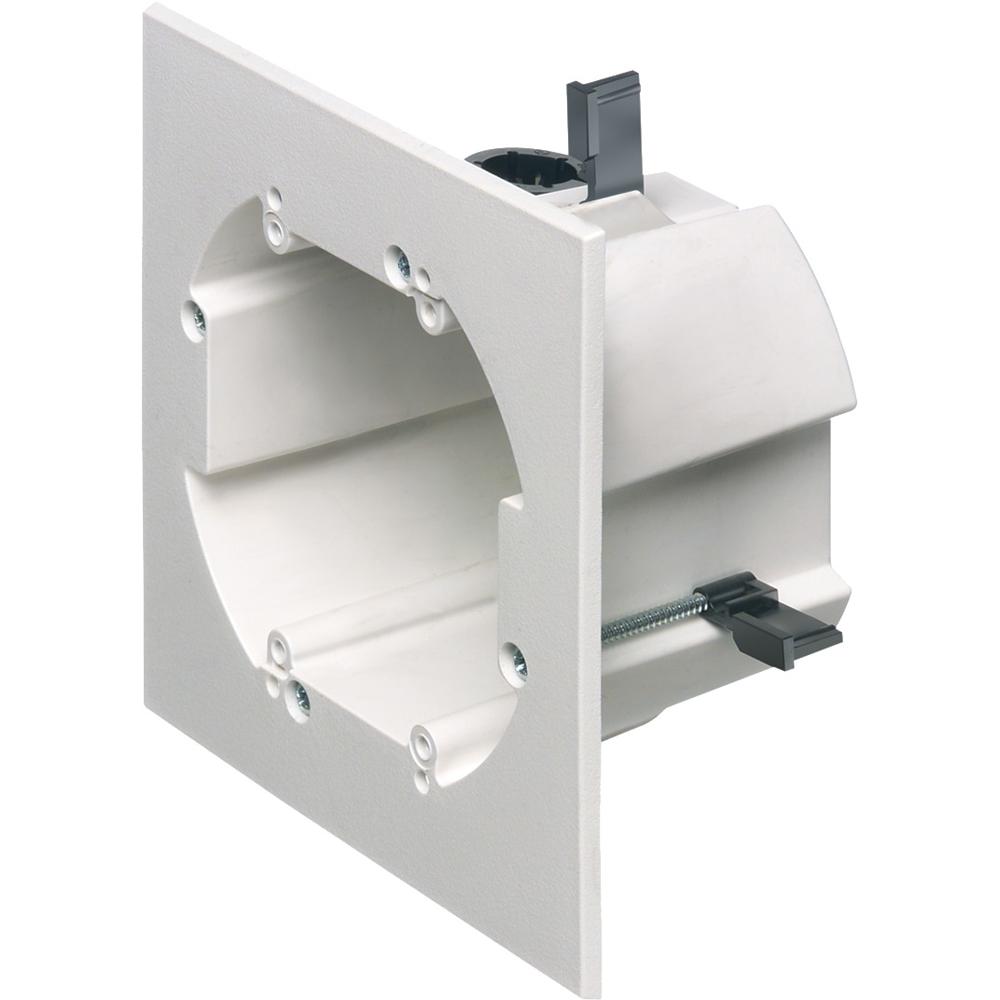 WHITE 2 GANG POWER BOX GC