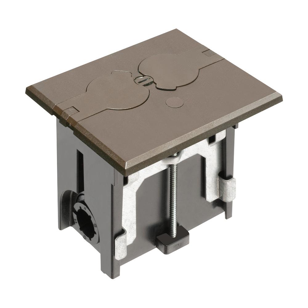 BROWN FLOOR BOX - FLIP