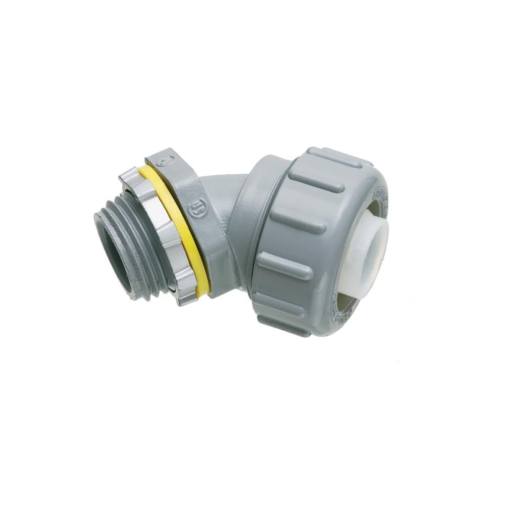 """1 1/4""""PVC 45 DEG CN BL"""