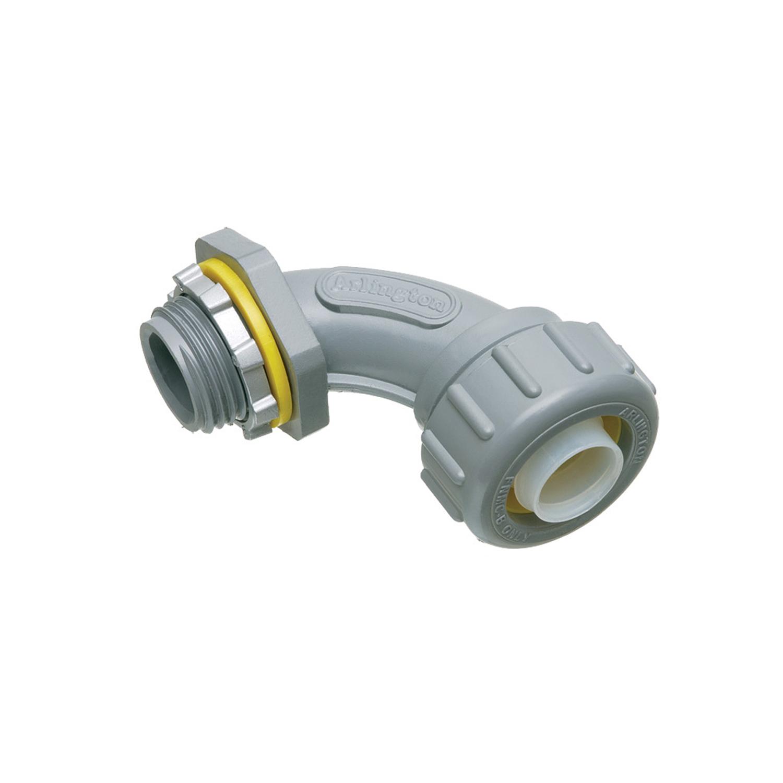 """1/2""""BL PVC LT 90 CONN"""