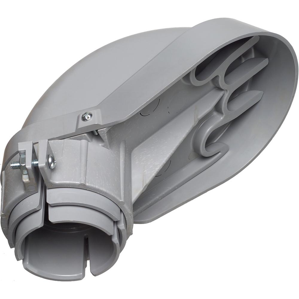 ARL PVC109 3IN PVC ENTR CAP