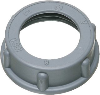 Arlington 440 Plastic Insulating Conduit Bushing; 1/2 In