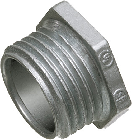 Arlington 503 1 In Rigid Conduit Bushed Nipple,""