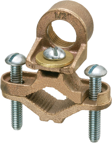 "GROUND CLAMP 1/2"" HUB"