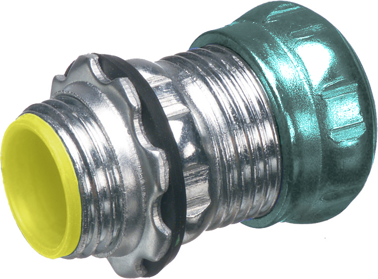Arlington 821ART 3/4 In EMT Insulated Rain Tight Compression Connector