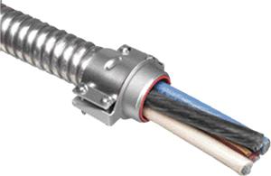 Arlington 8413 1 1/4 Inch Two Screw MC Metal Clad Connector