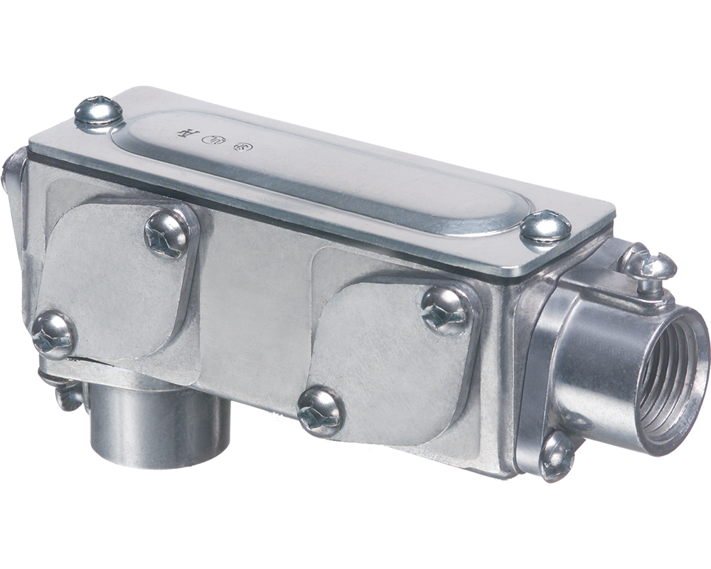 Arlington 935 ARL 2IN LB COMB W/CVR & GASKET