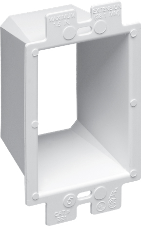 ARL BE1 1-GANG BOX EXTENDER