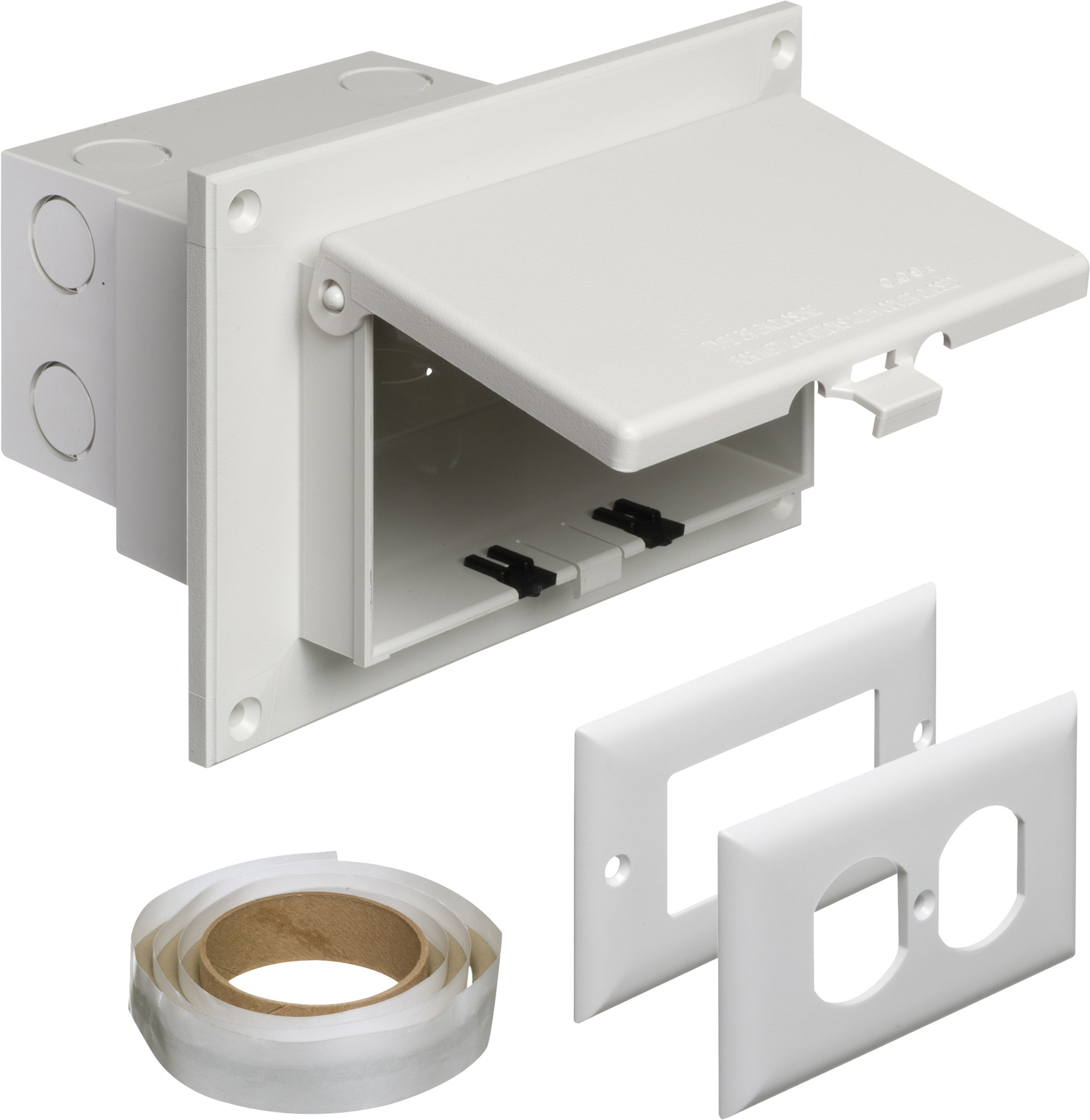Arlington Dbhr1w Weatherproof Non Metallic Recessed