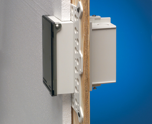 Arlington DBVMA1C Weatherproof Non-Metallic Recessed Electrical Box with In-Use Cover,Vertical Mount, Weatherproof, Non-Metallic, Recessed Electrical Box with In-Use Cover; 1 Gang