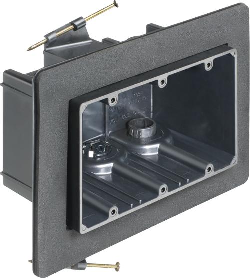 3 GANG NAIL-ON VAPOR BOX W/ GC
