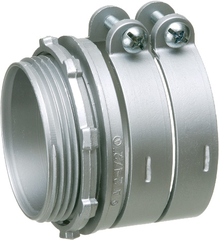 Arlington L4210 Industries 4in. StraightSqueeze Connector
