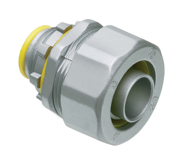 Arlington LT75A 3/4 In Straight Insulated Liquid Tight Connector