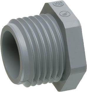 Arlington NM501 1/2 In PVC Conduit Nipple