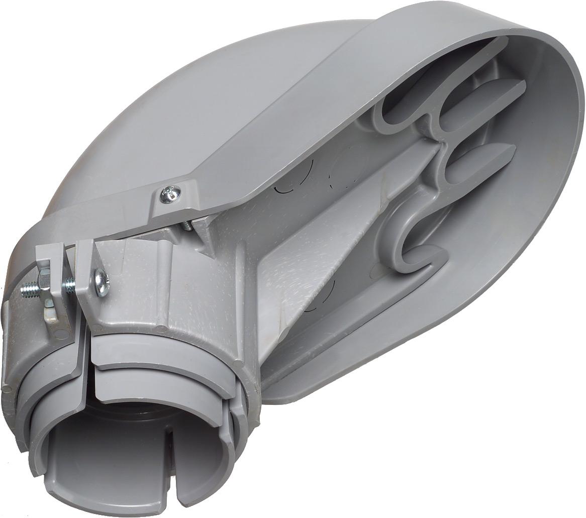 Arlington PVC109 ARL 3IN PVC ENTR CAP