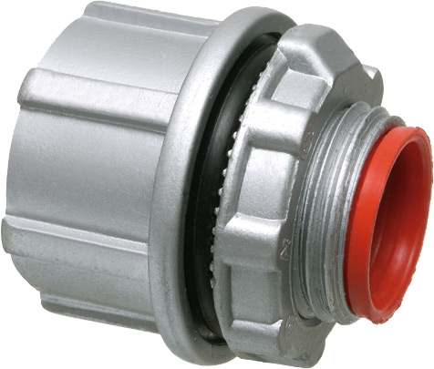 Arlington WH5 1 1/2 In Die Cast Insulated Knockout Hub