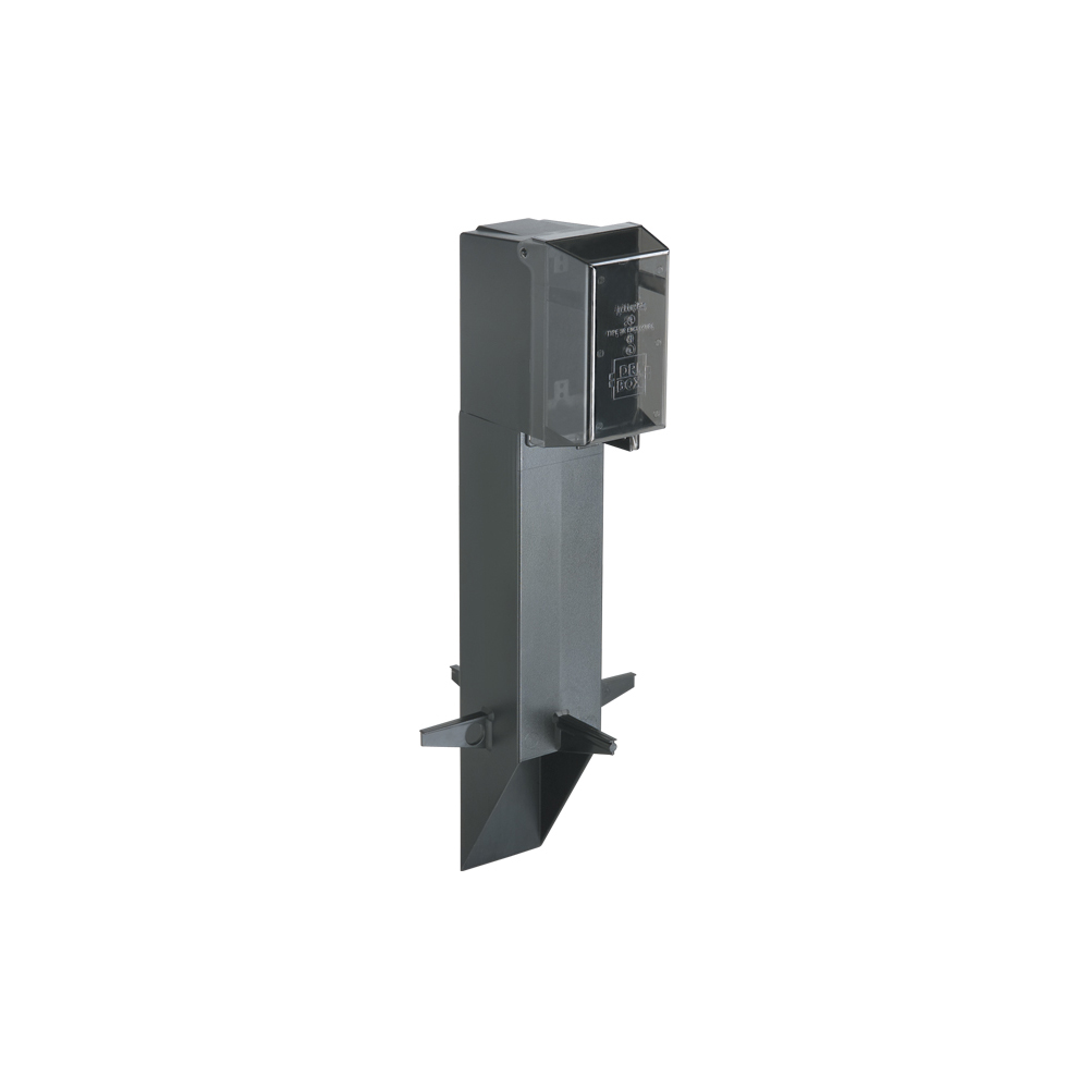Arlington GPD19B Gard-N-Post™ Enclosure w/ Weatherproof-in-Use Cover